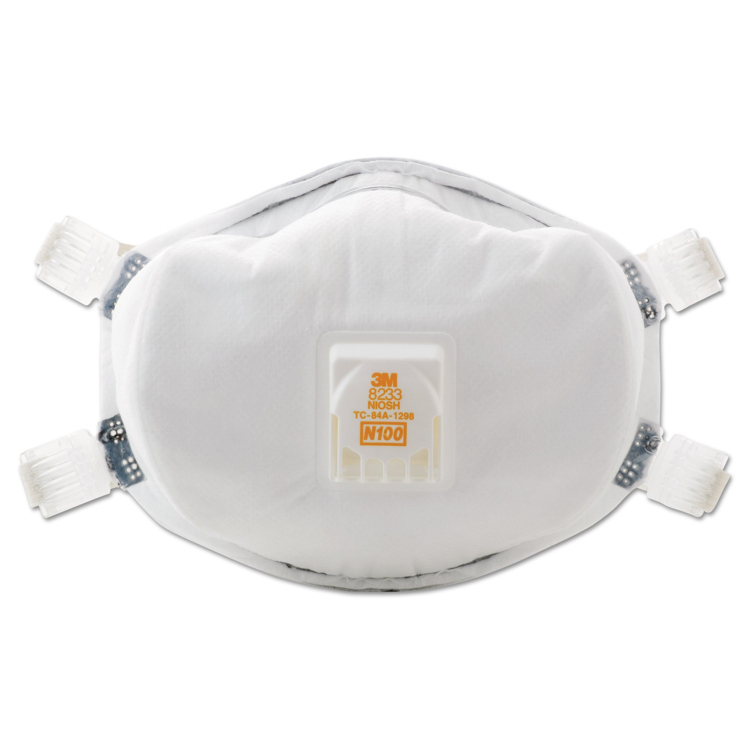 3M Particulate Respirator 8233, N100 product image