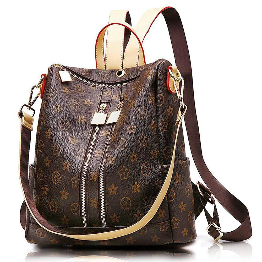 f3a796036e Olyphy Designer Leather Backpack Purse for Women