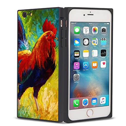 Amazon.com: Black Bulls Ox iPhone 6 6S Funda protectora ...