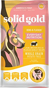 Solid Gold Hund-n-Flocken Lamb Brown Rice and Pearled Barley