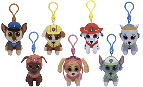 f8372cee9cd Image Unavailable. Image not available for. Color  ReBL LLC TY Stuffed  Animals Beanie Boo Clips Keychains Plush Toys ...
