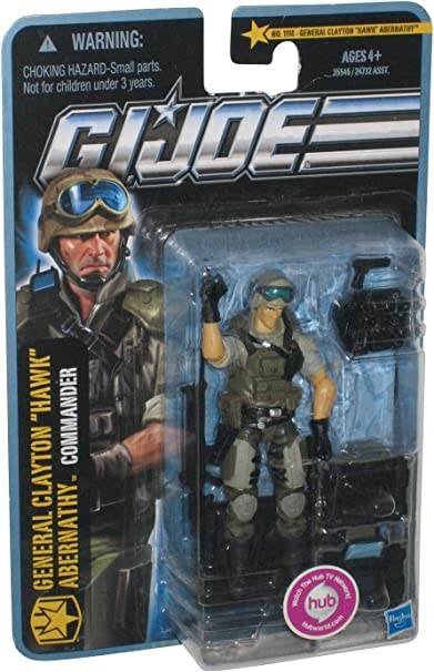 "G.I Joe The Pursuit of Cobra General Clayton /""Hawk/"" Abernathy with Accessories"