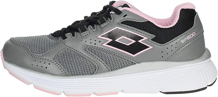 Zapatillas Running Mujer LOTTO SPEEDRIDE 600 Vi W. 211828. Gray/Pink. Talla 39: Amazon.es: Zapatos y complementos