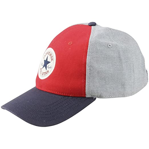 6a516c0bd6f Converse Block Red   Blue All Star Core Classic Cap at Amazon Men s  Clothing store