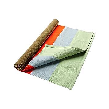 Amazon.com: Hugger Mugger Cotton Yoga Rug (Stormy Sky) (28in ...