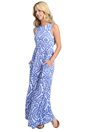 24b81201cc Vanilla Bay Signature Racerback Maxi Dress at Amazon Women's ...
