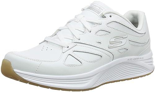 competitive price d7da2 537a4 Skechers Skyline-Woodmist, Scarpe Sportive Uomo, Bianco (White Wht), 40
