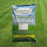 25kg Ivisons Autumn/Winter Professional Lawn Feed Grass Fertiliser & Moss Killer