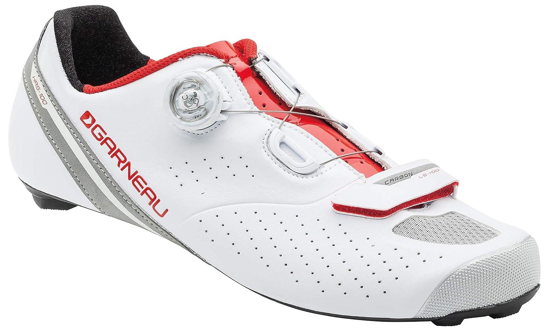 Louis Garneau – Men 's Carbon ls-100 2バイク靴 B01HHWOBG2 42.5|White/Ginger White/Ginger 42.5
