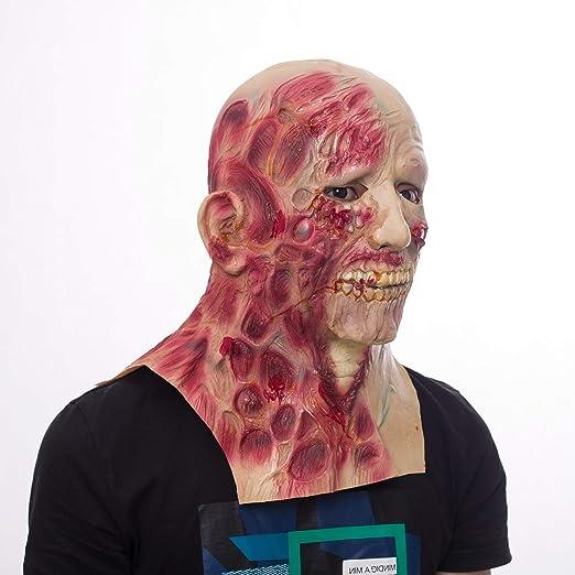 ZAC&LJai Máscara De Horror, Máscara De Halloween, Máscara De ...