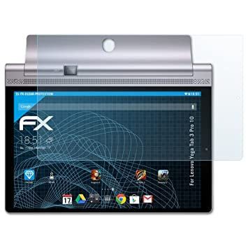 atFoliX Lámina Protectora de Pantalla Compatible con Lenovo Yoga Tab 3 Pro 10 Película Protectora, Ultra Transparente FX Lámina Protectora (2X)