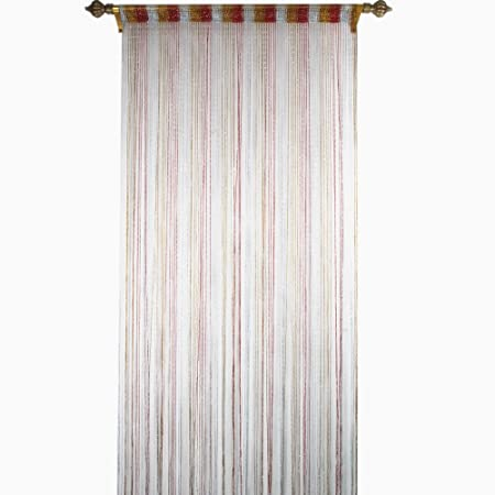 Taiyuhomes Pearl Beads String Door Net Curtain As Insect Bug Fly