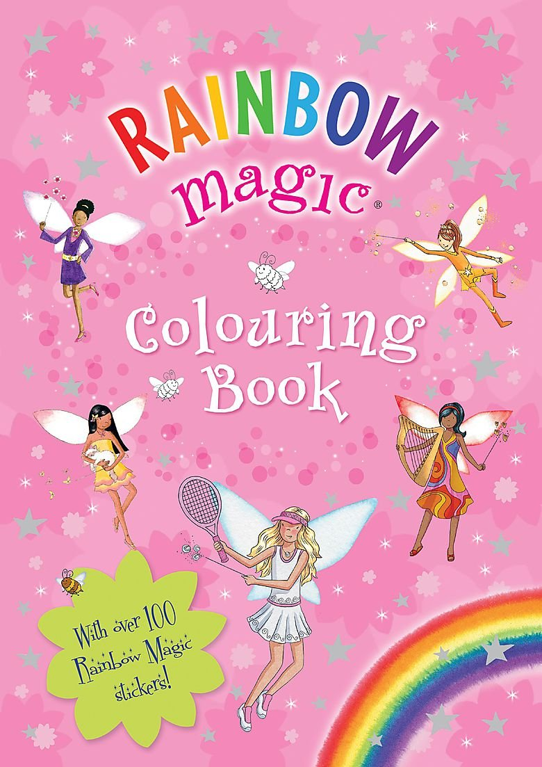 Colouring Book Rainbow Magic Amazon Co Uk N A 9781408304525 Books