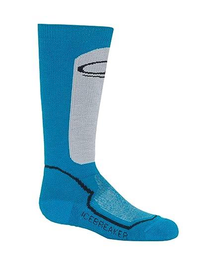 aab26132f60 Amazon.com : Icebreaker Merino Kid's Ski Over The Calf Socks, Merino Wool :  Clothing
