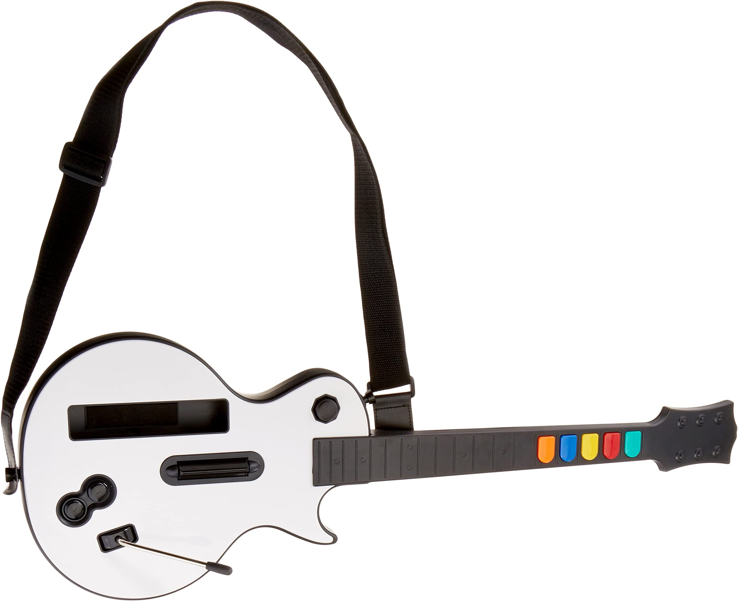 Amazon com: Wireless Guitar for Wii Guitar Hero and Rock