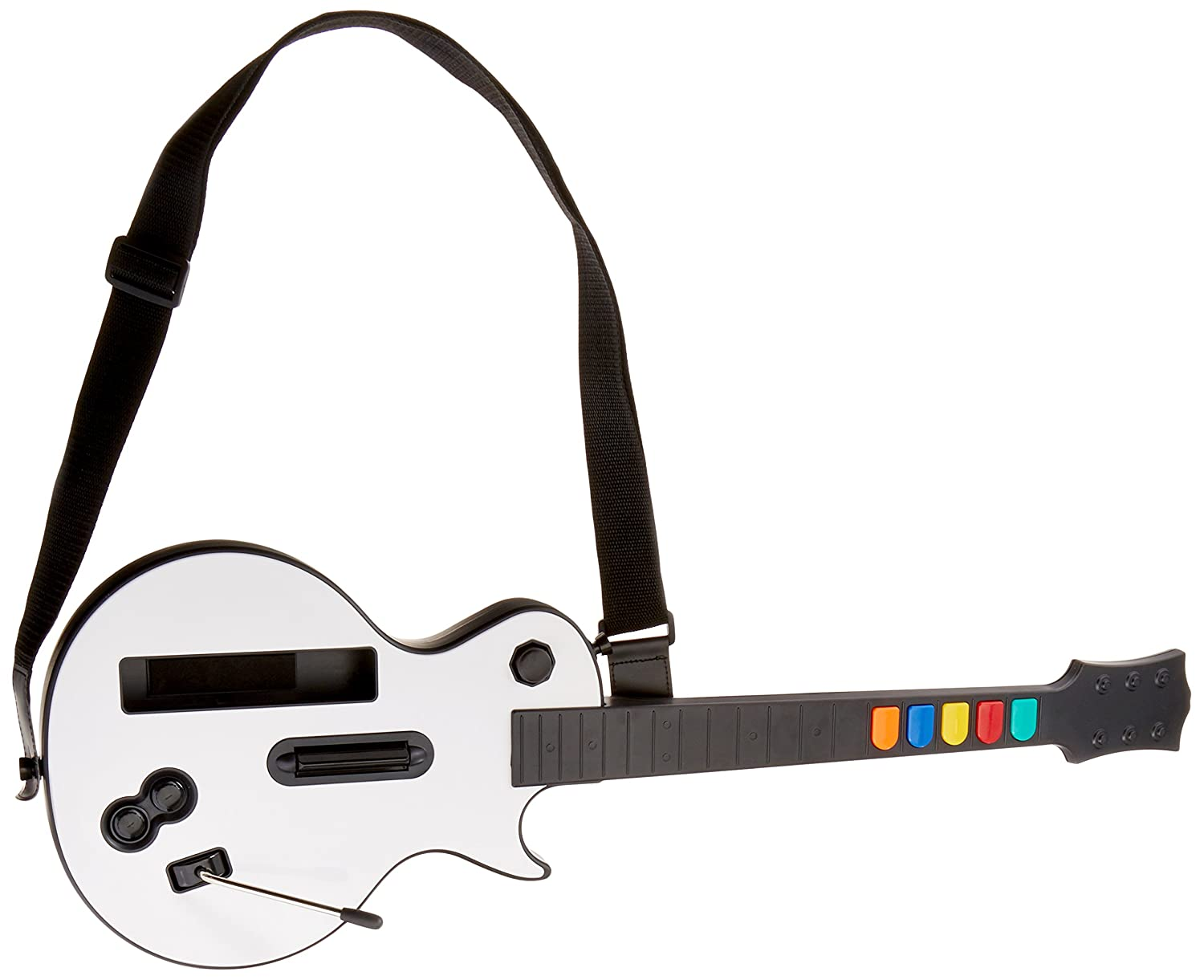 Wireless Guitar for Wii Guitar Hero and Rock Band Games (Excluding Rock Band 1), Color White