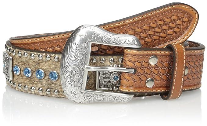 3e7e700002 Nocona Men's Blue Bar Bling Belt