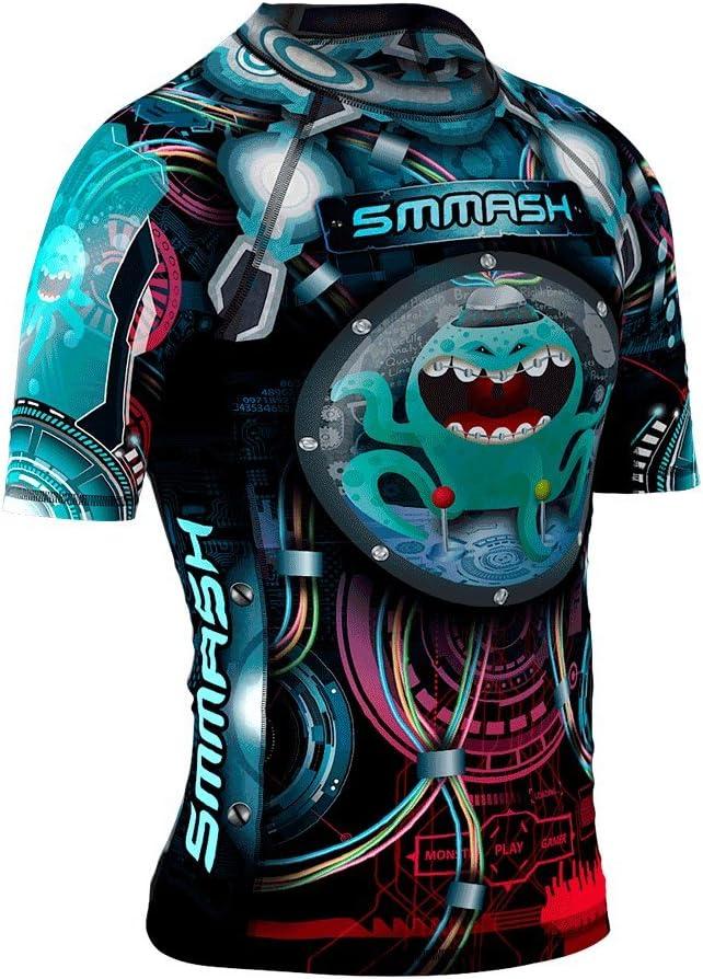 Camiseta de manga corta para deportes de lucha Smmash SQUIDDY
