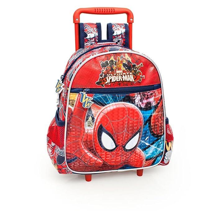 1 opinioni per Novità scuola zaino trolley asilo Marvel Ultimate Spider Man cm 29x25x11 cm