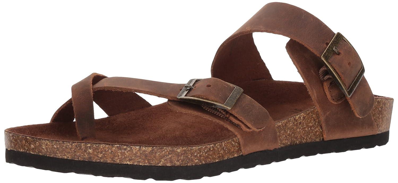 a6ba2c196ebb Amazon.com  WHITE MOUNTAIN Women s Gracie Flat Sandal  Shoes
