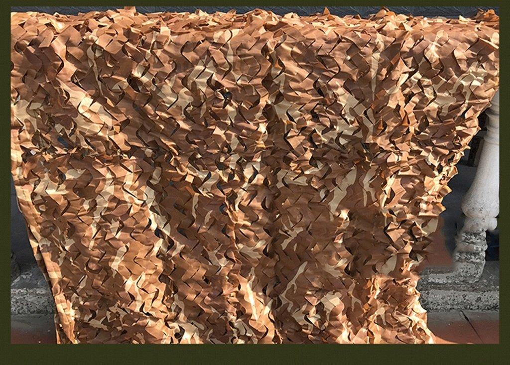 Rete Mimetica Tendalini Rete Esterna Mimetica, Rete da Campeggio con Rete da Campeggio, per Protezione Solare, Multi-Dimensione Opzionale, colore desertico 2x3m Multi-Dimensione Opzionale (Dimensioni   6  8M)
