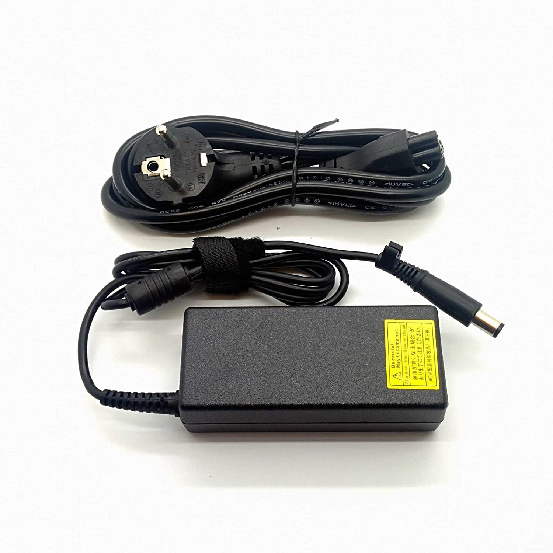 Adaptador Cargador Nuevo y Compatible con portatiles HP Compaq Presario EliteBook ProBook Pavilion Series 18,5v 3,5a con Punta 7.4mm * 5.0mm del ...