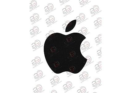 gadgets wrap vinyl black matte apple logo sticker for amazon in