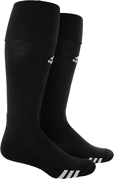adidas Unisex Soccer Socks (2-Pair)