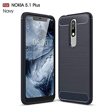 the latest 433ca a4dcc REALIKE Nokia 5.1 Plus Back Cover, Ultimate Protection from Drops, Durable,  Anti Scratch Back Cover for Nokia 5.1 Plus (Blue)