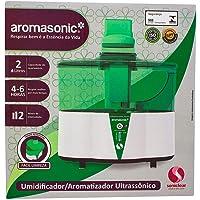 Umidificador Ultrassônico Aromasonic, Soniclear, Verde/Branco