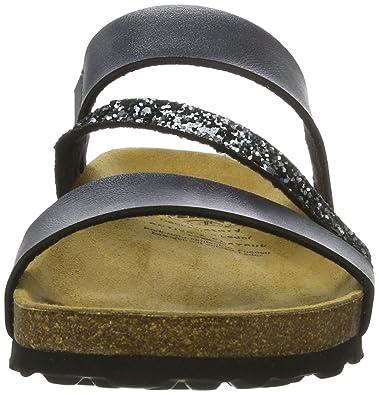 Lico Damen Bioline Glitter Flache Hausschuhe: Amazon.de: Schuhe &  Handtaschen