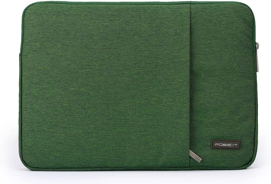 Waterproof & Shockproof Laptop Tablet Notebook Sleeve Case Bag Pouch Cover for MacBook Pro Retina 13.3-inch MacBook Air 13 12.9-inch iPad Pro Ultrabook Acer Asus Dell HP Chromebook (Army Green)