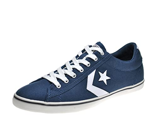 Converse Star Player Seasonal Fashion Trainers Unisex Navy Grey Blue  UK5