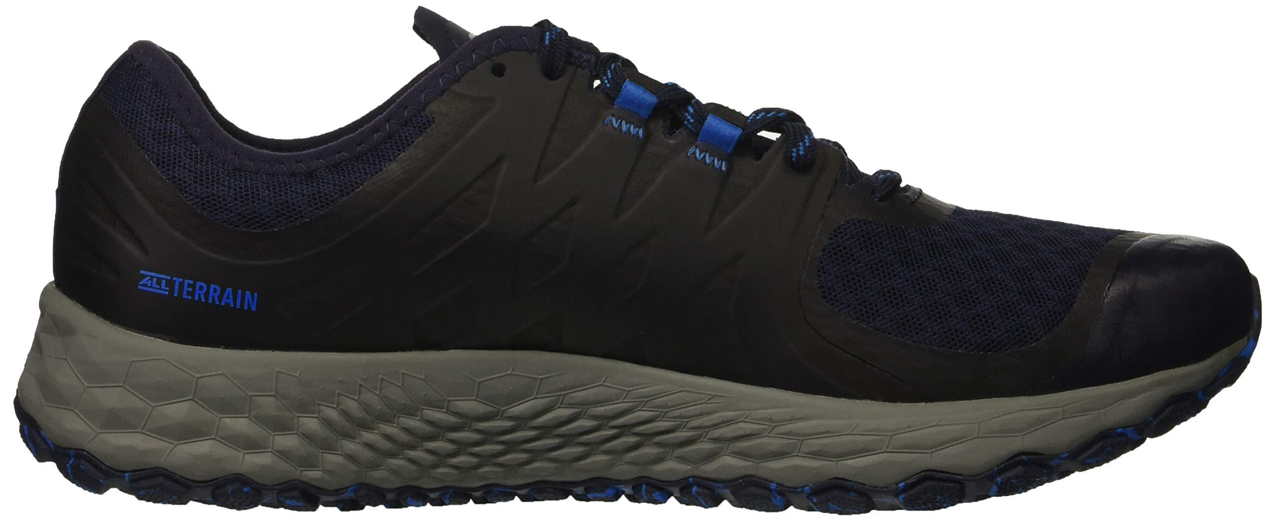 New Balance Men's Kaymin V1 Fresh Foam Trail Running Shoe Pigment/Laser Blue 1.5 D US by New Balance (Image #7)