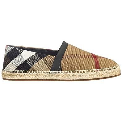 b94cadbc90ccf9 BURBERRY Men Espadrilles Classi Check Brown  Amazon.co.uk  Shoes   Bags