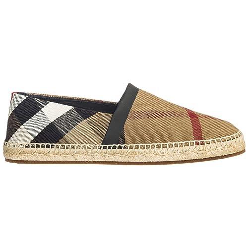 Burberry Alpargatas Hombre Classi Check: Amazon.es: Zapatos y complementos