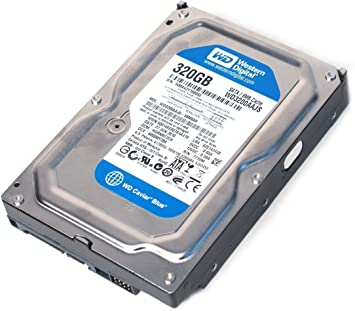 With Windows 10 Pro 320 GB Western Digital 7200 RPM SATA Desktop Hard Drive HDD