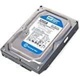 Western Digital (WD) WD3200AAJS Caviar Blue SATA II 7200 RPM 8 MB Cache Bulk/OEM Desktop Hard Drive for PC, Mac, CCTV DVR, NAS, RAID- 1 Year Warranty (320GB)