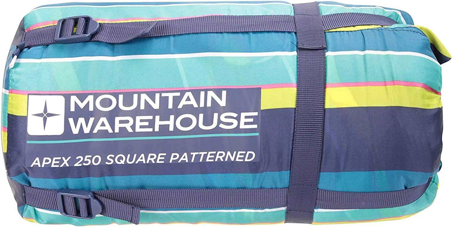 Mountain Warehouse APEX 250 SQUARE PATTERNED SLEEPING BAG