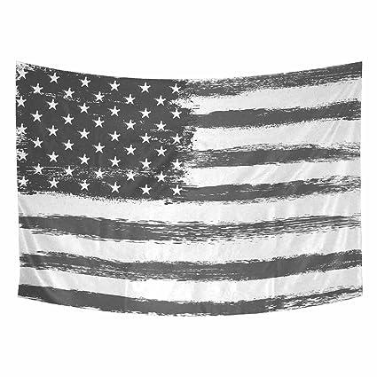 Amazoncom Grunge American Flag Home Decor Tapestries Wall Art Uas - Decor-uas