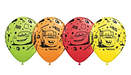 Disney Cars Balloons 12quot Pixar Latex Party Supplies Birthday 1 2 3 Decorations Lightning McQueen
