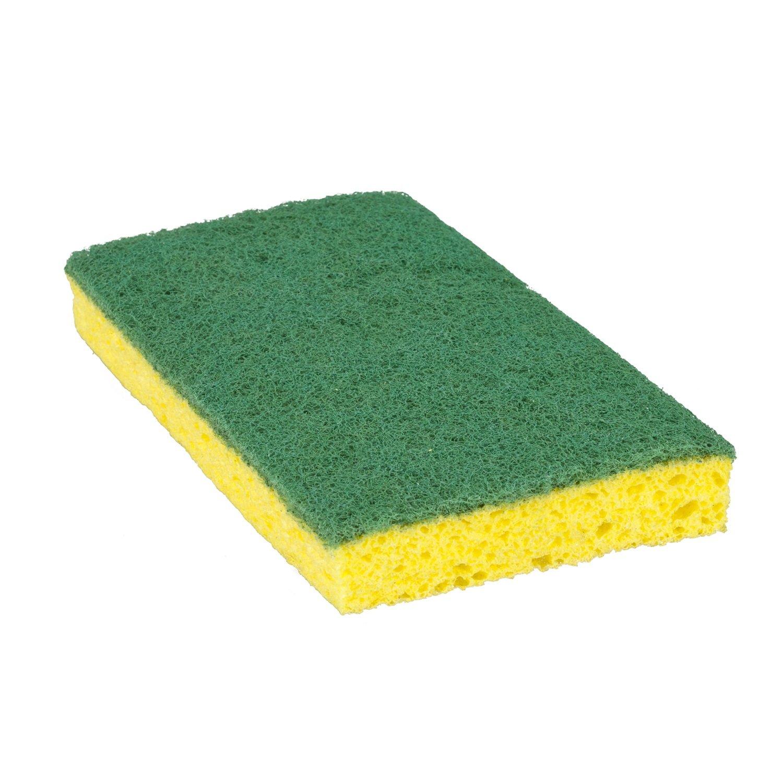 Scotch-Brite Medium Duty Scrub Sponge 74CC, 6.1'' x 3.6'' x 0.7'' (6 Packs of 10) by Scotch-Brite