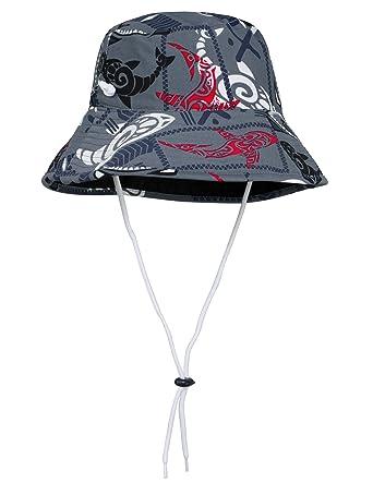 e67091f816a6b Amazon.com  Tuga Boys Reversible Bucket Hats - UPF 50+ Sun ...