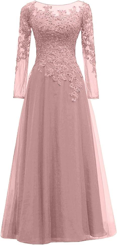 Amazon.com: Pretygirl Vestido de noche de tul para mujer ...