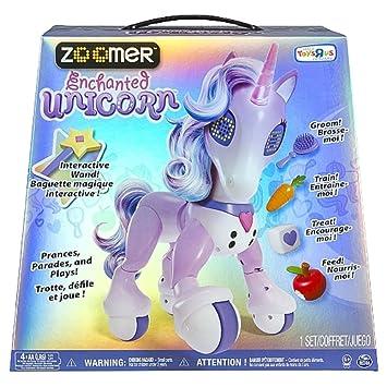 Zoomer Enchanted Unicorn Interactive Toy