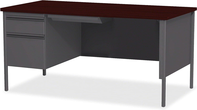 Amazon.com: Lorell 30 Left Pedestal Desk, LH, 30-Inch X30-Inch
