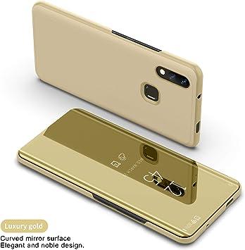 Funda para Xiaomi Mi MAX 3 Estuche Espejo Elegante Cover de ...