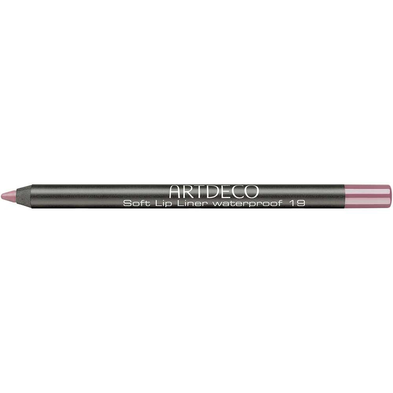 Artdeco Soft Lip Liner Waterproof unisex, Wasserfester Lippenkonturenstift farbe: 19 venetian red, 1er Pack (1 x 1 g) KAF4819
