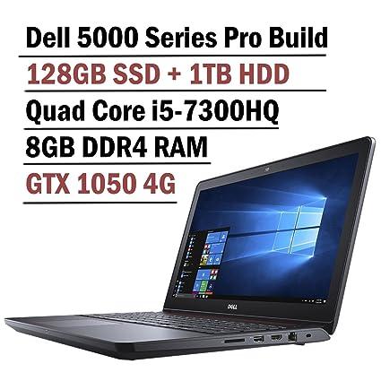 2018 Flagship Dell Inspiron 15 5000 Gaming Edition 5577 Laptop (15 6 Inch  FHD Display, Intel Core i5-7300HQ 2 5GHz, 8GB RAM, 128GB SSD + 1TB HDD,