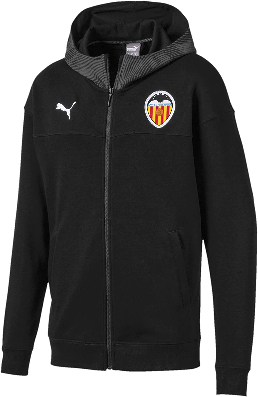 Puma Valencia CF Paseo 2019-2020, Chaqueta, Puma Black, Talla 2XL ...